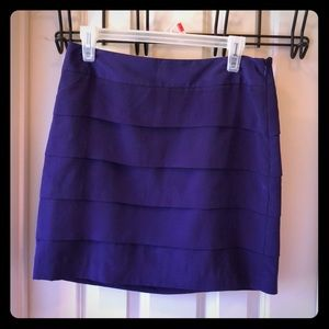 Loft Purple Business Casual / Professional Skirt